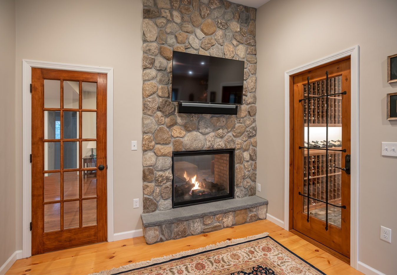 fireplace-and-wine-room