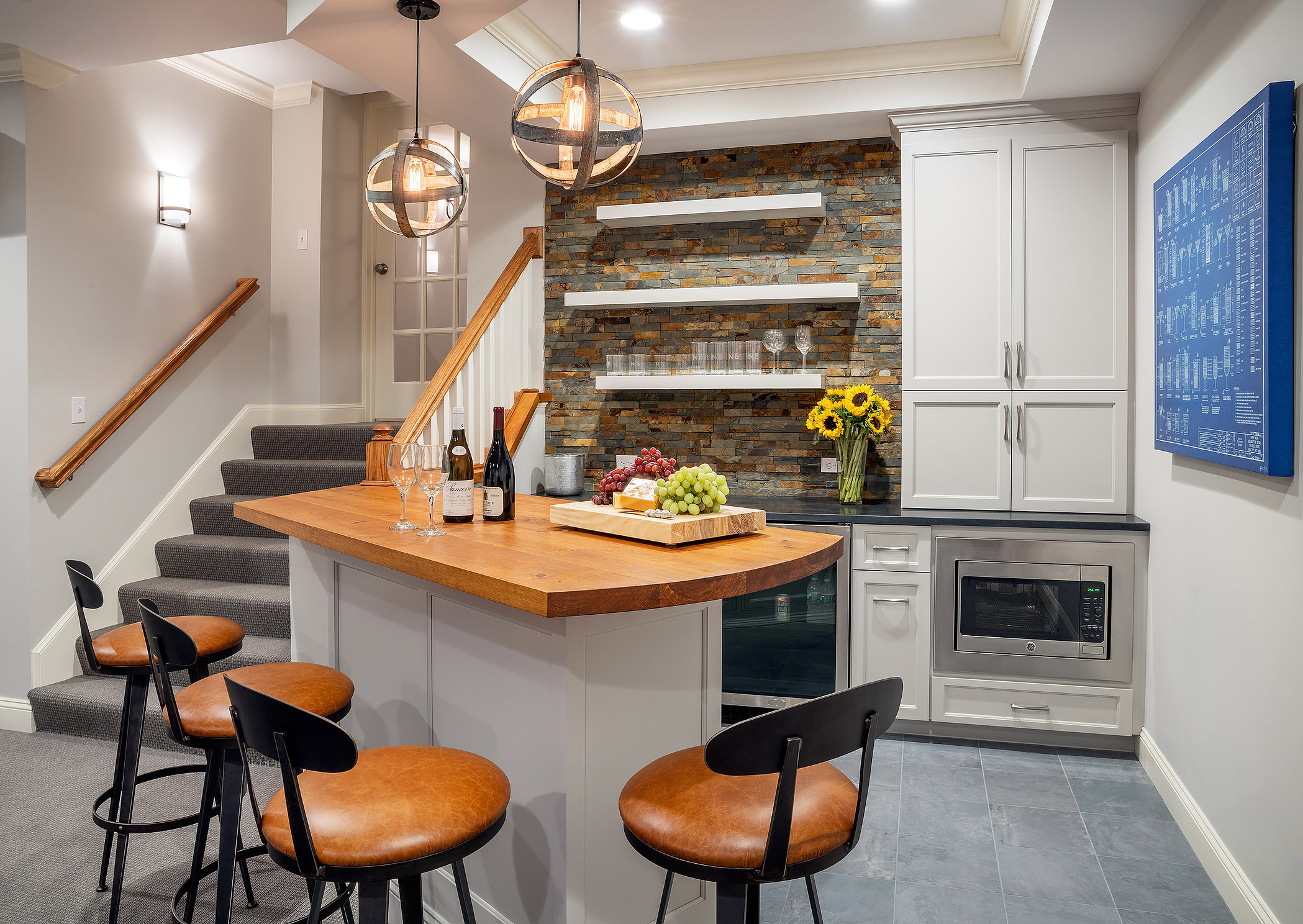 Great basement renovation ideas for family living and enjoyment